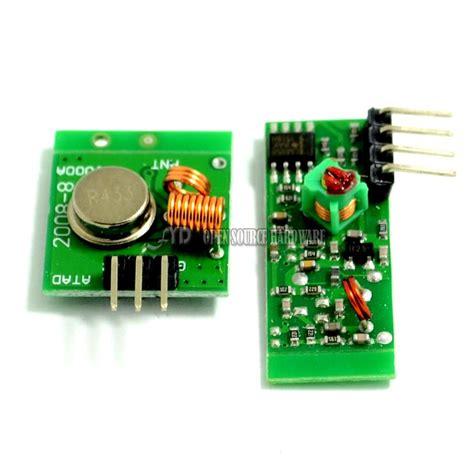 315mhz Wireless Wl Rf Transmitter And Receiver Link Kit Arduino Pi ᐂsmart electronics 433mhz rf ộ ộ transmitter transmitter and receiver module link kit kit
