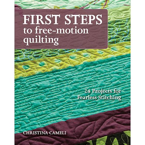 Free Motion Quilting Books by Stash Books Steps To Free Motion Quilting Walmart