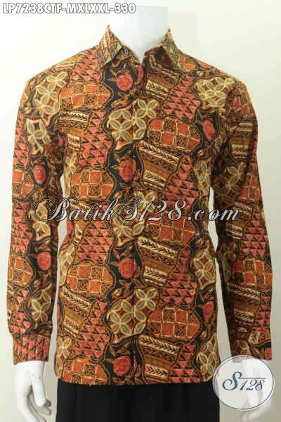desain kemeja lengan panjang batik baju batik istimewa harga biasa kemeja batik elegan halus