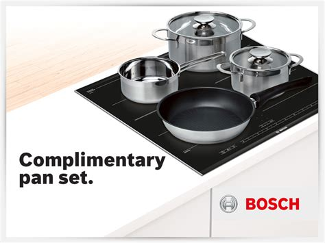 induction hob free pans complimentary induction pan set riggzy complete kitchen solutions