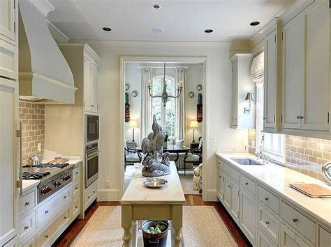 galley kitchens with islands best 25 galley kitchen island ideas on galley