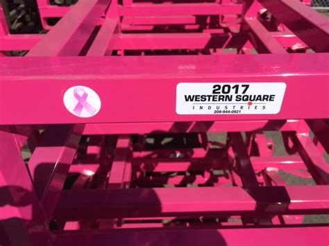 Western Square Barrel Racks by Pink Barrel Racks From Western Square Benefit Breast