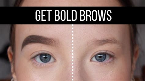 instagram brow tutorial youtube how to get quot instagram quot brows youtube