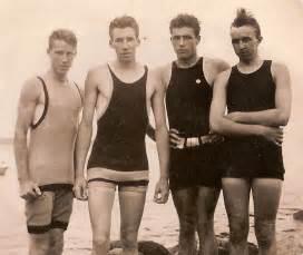Casual the history of mens swimwear