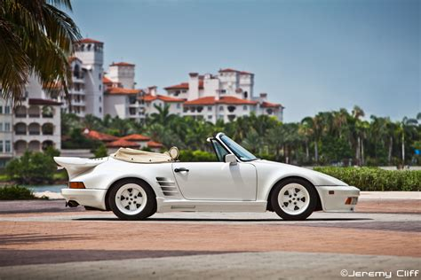 porsche gemballa 1986 1986 gemballa turbo cabrio version iii white on white on