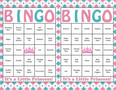 60 baby shower bingo cards printable baby instant