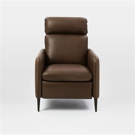 Reclining Chairs Lewis by Lewis Leather Recliner West Elm