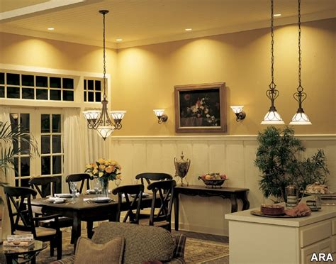 inside decorated homes choosing the adequate lighting for your home