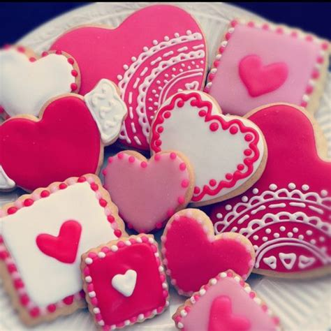 valentines decorated cookies the world s catalog of ideas