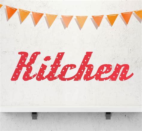 retro kitchen wall stickers kitchen retro vinyl wall sticker by oakdene designs