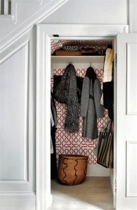 entryway wallpaper pinterest entry coat closet home pinterest wallpaper hall and