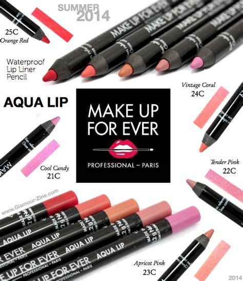 Lip Liner Make Up Forever make up for aqua lip waterproof lip liner pencil