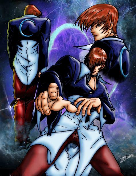 imagenes anime kof king of fighters iori yagami by robersilva on deviantart