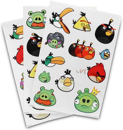 reusable wall stickers angry birds reusable wall stickers