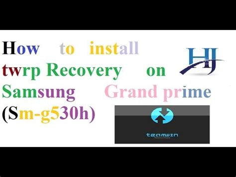 how to install themes on samsung grand prime how to install twrp recovery on samsung grand prime sm