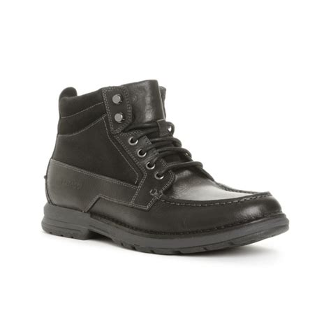 waterproof chukka boots mens sebago concord waterproof chukka boots in black for lyst