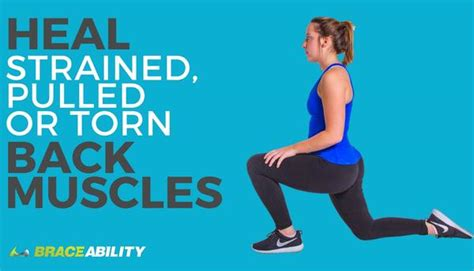 quick steps  recover   sprained torn  muscle