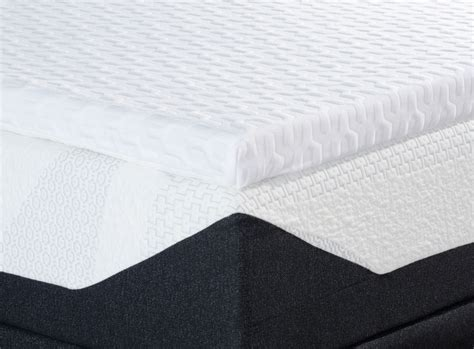 Gel Foam Mattress Vs Memory Foam by Liquid Gel Memory Foam Mattress Topper Personal Comfort Bed