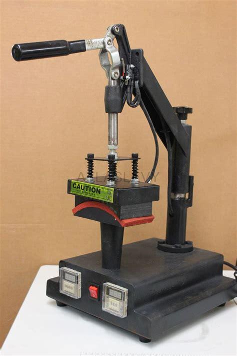 machine swing swing away hat cap heat press transfer machine