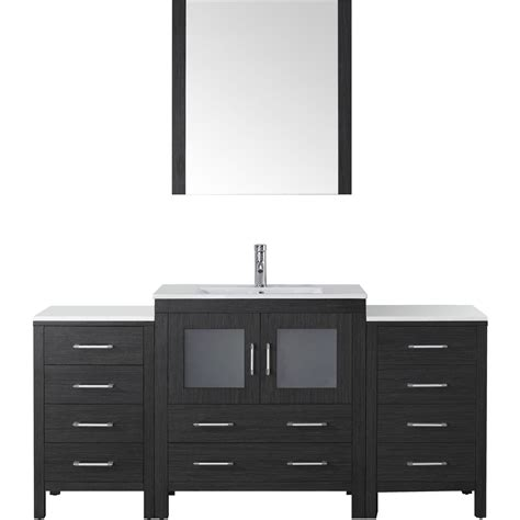 virtu ks70068 modern 68 inch dior single sink bathroom