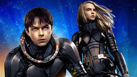 valerian laureline valerian and laureline in valerian and the city of a thousand planets hd movies 4k wallpapers