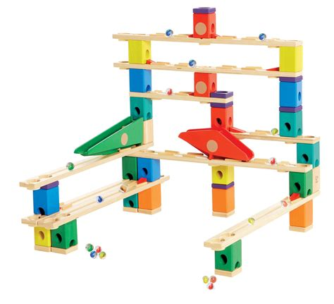 Which Hape Marble Run Quadrilla - award winning hape quadrilla wooden marble run