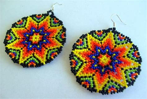 mexican beading 12 best images about flores huichol on beaded