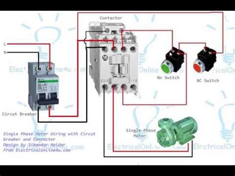 comfortable wiring up a contactor pictures inspiration