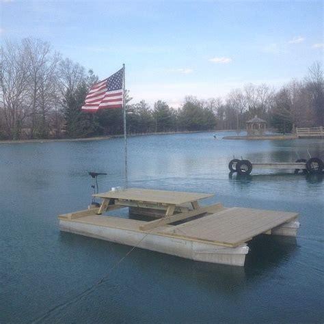 floating picnic table for sale diy picnic table pontoon barge pontoon picnic