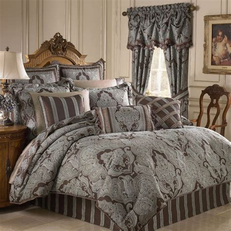 royalton chocolate bedding ensemble by croscill