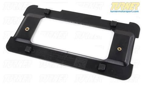 Bmw License Plate Holder by 51188238061 Rear License Plate Holder E46 E53 X5 E60