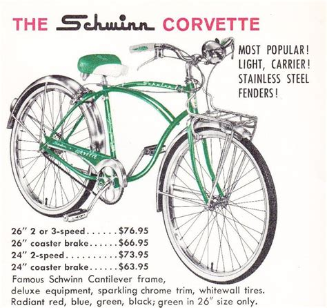 schwinn corvette bicycle the stingray captain kangaroo and the rise and fall of