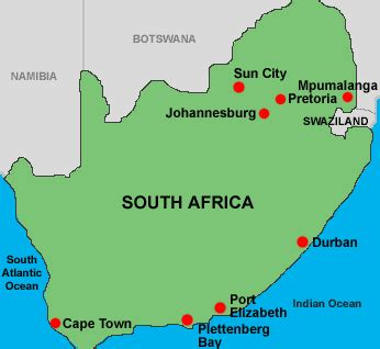 south africa map with cities filmpiracy johannesburg