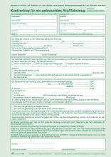 Kaufvertrag Kfz Berweisung by Rnk Verlag Universal Kaufvertrag F 252 R Gebrauchte Kfz
