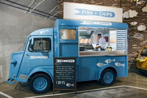 food truck design awards notcutts horti cultural the street kitchen fish and chips
