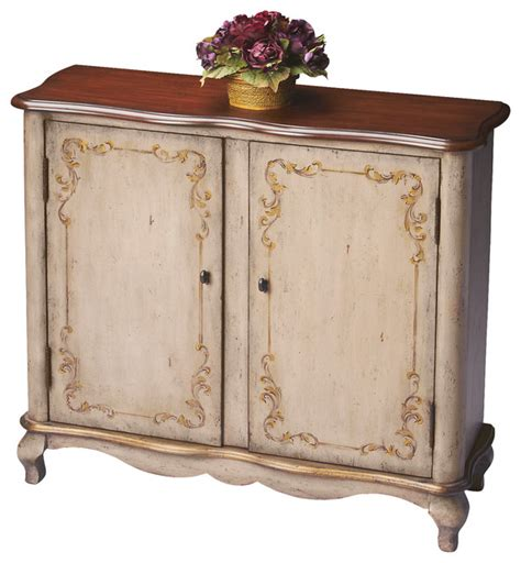 Accent Console Cabinet by Butler Console Cabinet Traditional Accent Chests And