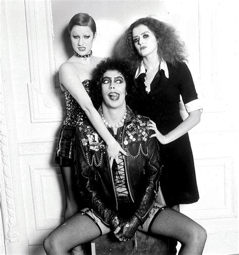 Rocky Horror Picture Show Rockymusic Rocky Horror Picture Show Still B W Photo Image