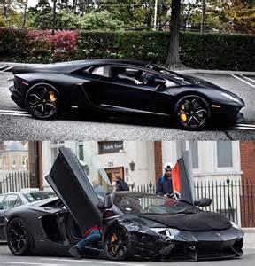 Cristiano Ronaldo Lamborghini Christiano Ronaldo Crashes His 200k Euros Lamborghini