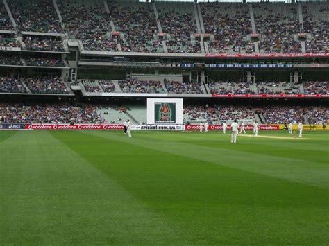 cricket screen cricket at the mcg stadium signs stadium signs