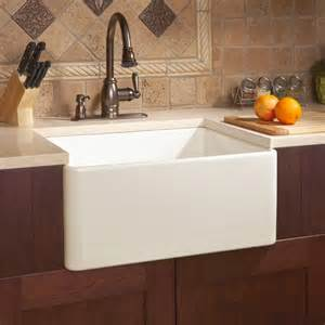 sink for kitchen 26 quot baldwin fireclay farmhouse sink smooth apron