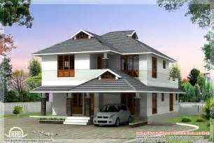 4 room house 1760 sq beautiful 4 bedroom house plan kerala home