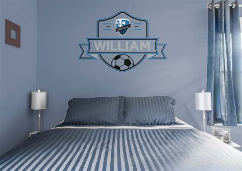 Auto Decals Montreal by Montreal Impact Personalized Name Wall Decal Shop