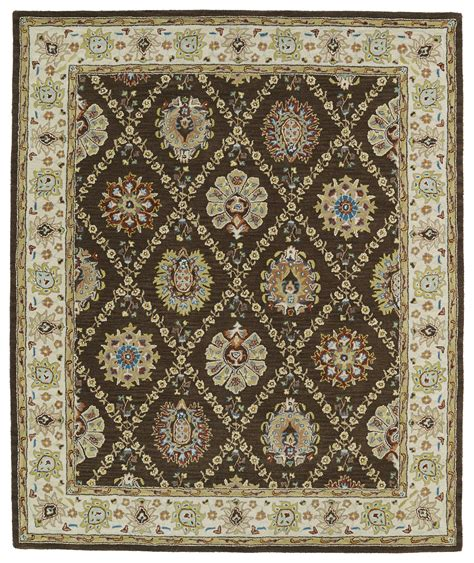 Kaleen Area Rugs Kaleen Taj Taj03 40 Chocolate Area Rug