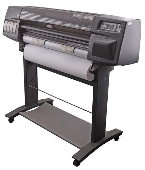 best large format plotter hp designjet 1000 1055cm c6075a 200w 36 quot large format