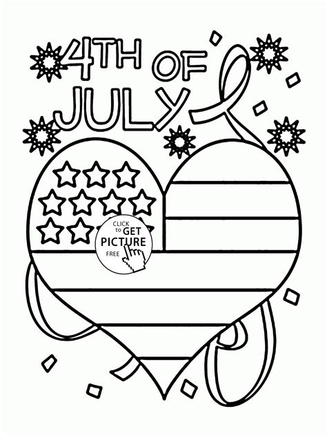 independence day coloring pages printable happy independence day coloring page for kids coloring