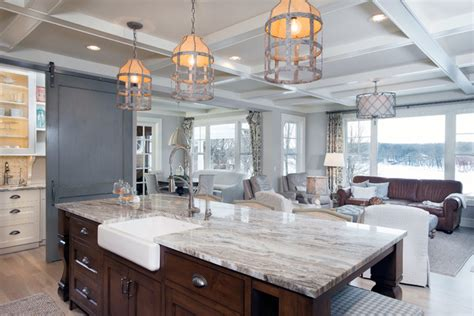 Kitchen Island Stools And Chairs Authentic Charm Transitional Kitchen Grand Rapids