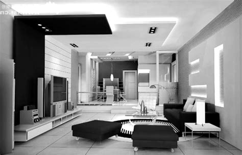 White Modern Living Room by Living Room Modern Interior Deco Living Room Ideas