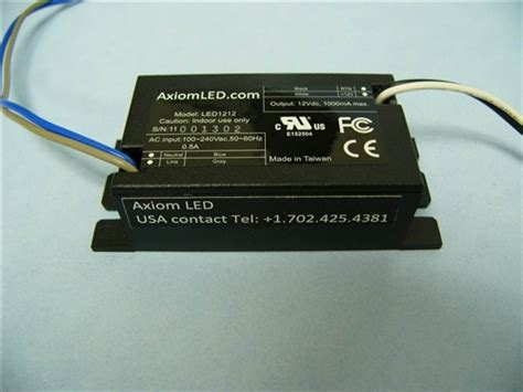 Lu Led Axiom 12 Watt led1212 led power supply