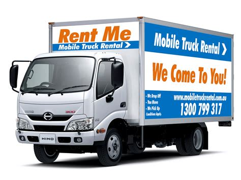 truck with rent a truck interstate truck hire mobile truck rental