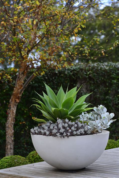 Large Garden Plant Pots Modern Patio Outdoor Patio Garden Planters
